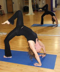 Kandy Bernal Yoga backbend