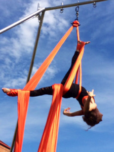 Kandy Stamer Bernal aerial silks