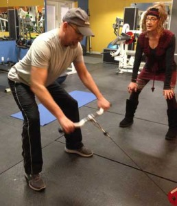 corrective exercise coaching with Kandy Body Fitness Peoria IL
